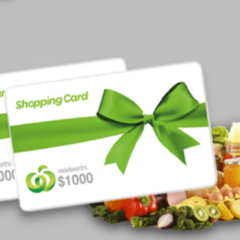 win woolworths gift card