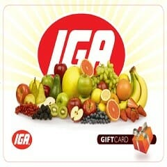 Win a $200 IGA Gift Card