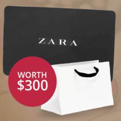 $300 Zara Voucher