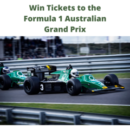 Win Tickets to the Austrlian Grand Prix