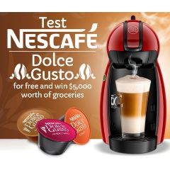 Test & Keep a Nescafe Dolce Gusto