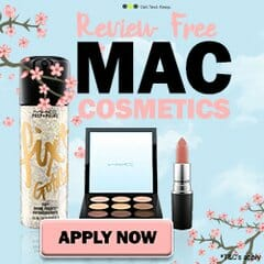 Test MAC cosmetics for free