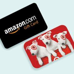 Amazon Target Vouchers