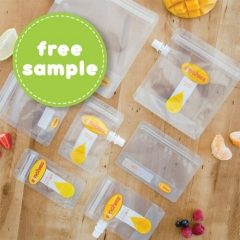 Free Baby Pouch Sample from Sinchies